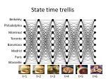state time trellis