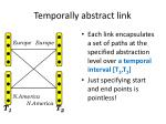 temporally abstract link