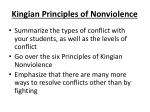 kingian principles of nonviolence