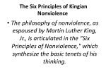 the six principles of kingian nonviolence
