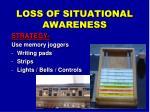 loss of situational awareness1