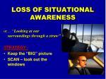 loss of situational awareness2