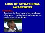 loss of situational awareness3