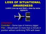 loss of situational awareness4