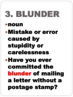 3 blunder