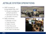 jetblue system operations