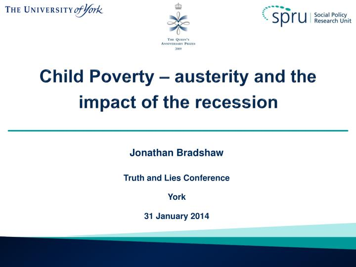 child poverty austerity and the impact of the recession n.