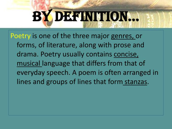 dramatic poetry definition literature