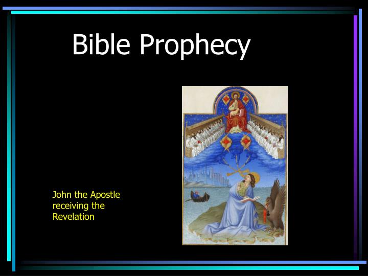 bible prophecy n.