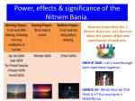 power effects significance of the nitnem bania