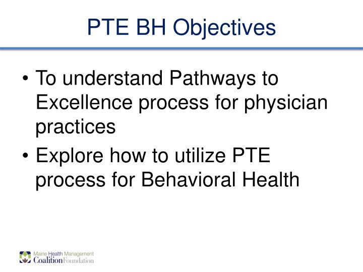 pte bh objectives n.
