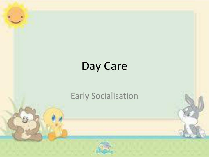 day care n.