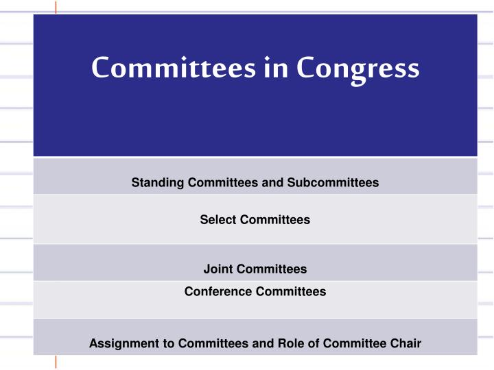 Committees Chart