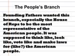 the people s branch