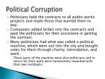 political corruption