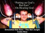 putting on god s bat ears on hearing god