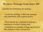 review passage from lines 180