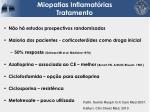 miopatias inflamat rias tratamento