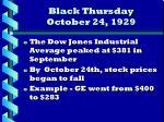 black thursday october 24 1929