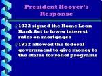 president hoover s response4
