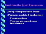 surviving the great depression1