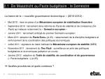 2 1 de maastricht au pacte budg taire le semestre