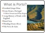 what is porto
