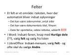 felter