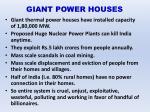 giant power houses