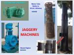 jaggery machines