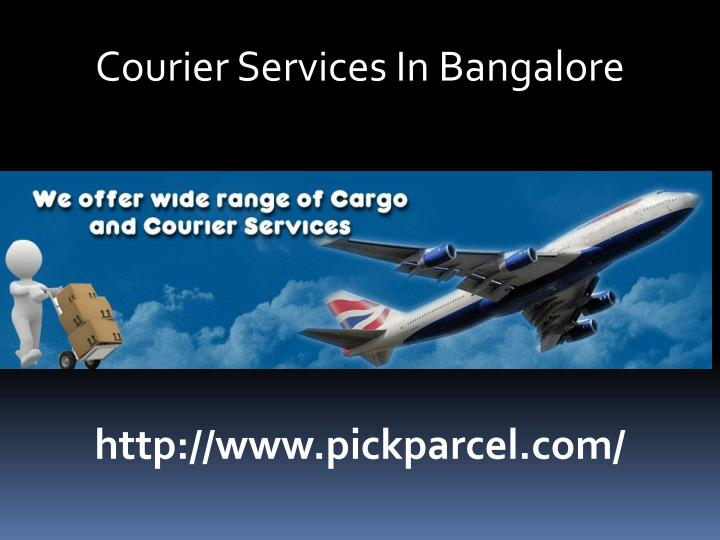Courier Services In Bangalore