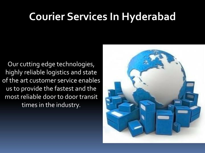 Courier Services In Hyderabad