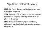 significant historical e vents