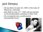 jack dempsy