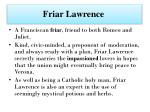 friar lawrence