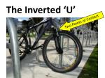 the inverted u