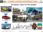 european cities for the people