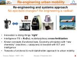 re engineering and systems approach no epic bold changes re engineering is radikal