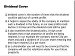 dividend cover1