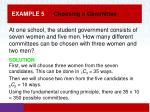 example 5 choosing a committee1