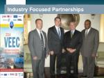 industry focused partnerships