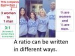 a ratio can be written in different ways5