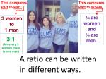 a ratio can be written in different ways6