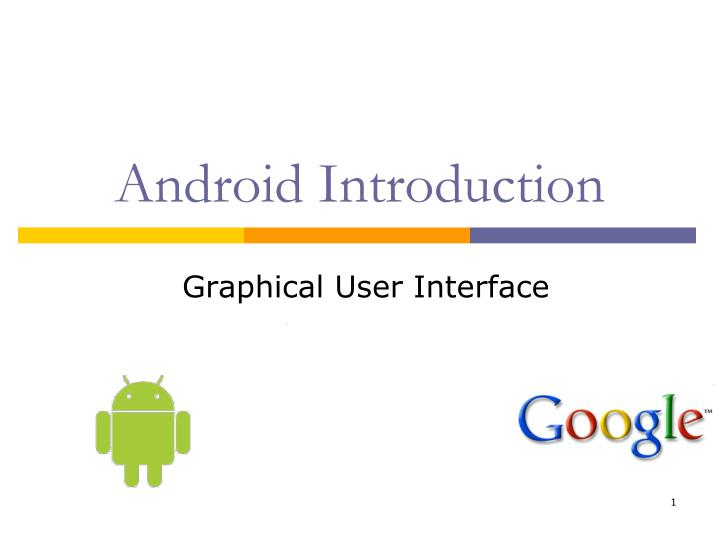 android introduction n.