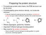 preparing the protein structure1