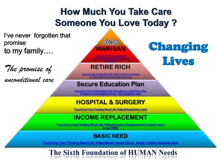 the sixth foundation of human needs n.