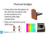 thermal bridges