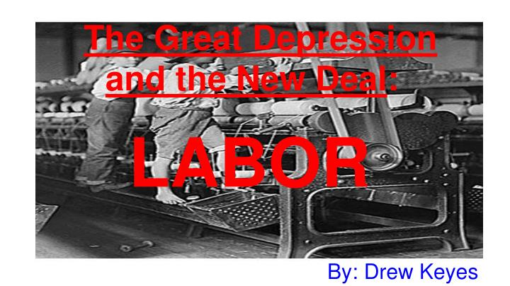 the great depression and the new deal n.
