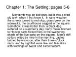 chapter 1 the setting pages 5 6