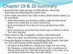 chapter 19 20 summary